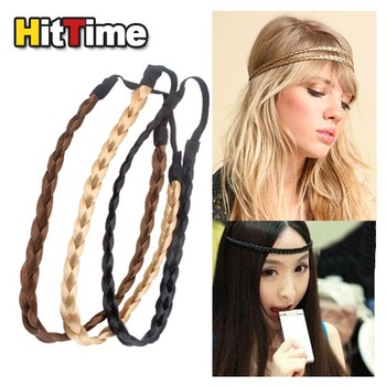 New Pretty Girl Plait Braided Hair Head Band Plaited  #3966