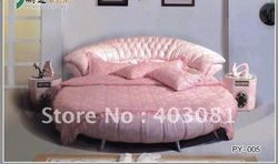 bedroom furniture round bed py-005(China (Mainland))