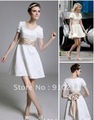 Fantastic New Style Jenny A-line Square Short Bridesmaid/Homecoming/Gossip Girl Fashion Dress