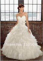 New haute couture wedding winter wedding dress halter Bra tutu fishtail wedding