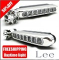 FREESHIPPING freeshipping wind power daytime running light DRL day time running light No need to connect power wp-1