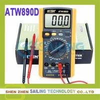 Free shipping ATTEN ATW890D multimeter digital multimeter ,Retail Wholesale