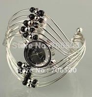 Promotion! 10pcs/lot hot style wholesale Jewelry Bangle bracelet wrist fashion Women's watch Ladies