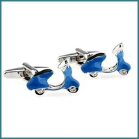 Free Shipping Men's Fashion Motorcycle Cufflinks 5 pairs/lot
