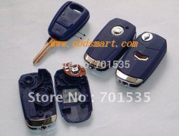 Fiat key modifiled flip remote key case