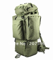 Free shiping NEW High quality 100L Internal Frame Hiking Camping Backpack Bag, 4 colors, military backpack by EMS