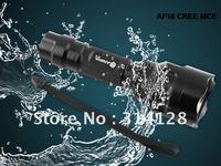 ANOWL AF18 CREE MC-E MCE LED FLASHLIGHT SINGLE MODE 1X18650/2X16340 BTY 900LM CREE LED FLASHLIGHT