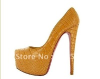 free ship (EMS) Genuine leather shoes wedding dress shoes, pumps shoes, black and brown stock sell, big on sales