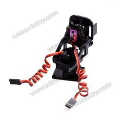 rc helicopter part PT Pan/Tilt Camera Platform Anti-Vibration Camera Mount for Aircraft FPV 20G SKU 11384(China (Mainland))