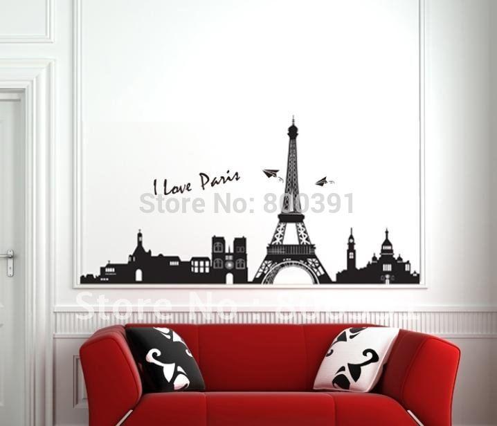 Eiffel Tower Bedroom ...