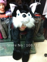 Genuine Rabbit Fur Hat/female women lady/winter warm/Wholesale or Retail Free Shipping/OEM/dog cap /headdress black