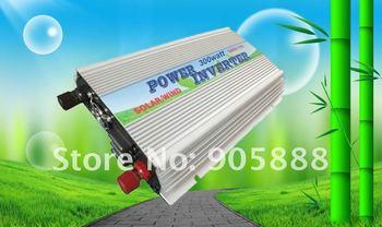 HOT Sell!! 4pcs/Lot 300W Watt Grid Tie Solar Power Inverter DC 12V 14V 22V 24V TO AC 110V/120V MPPT