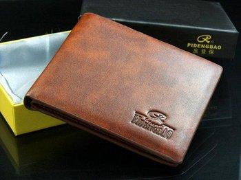 Free shipping+2014fashion Mens Wallet+ Men Purse + Men rfid card leather wallet+ Genuine leather+ wholesale+100%Warranty  W-B29