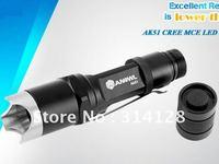 ANOWL AK51 CREE MC-E LED FLASHLIGHT SINGLE MODE 1X18650/2X16340 BATTERY 900LM CREE LED FLASHLIGHTS