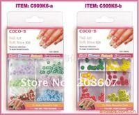 3D Sticker Freeshipping Nail Art Decoration 144pcs/set Pretty Multicolor Lovely Butterfly /Fruit/Flower slice