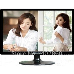 24 inch wide computer LCD monitor 24'' screen TV with(China (Mainland))