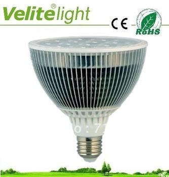 led supplier of 12*1W high power led E27 par 38 lights with pure white 3500k to 4500k led par38 lighting