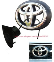 DHL Free waterproof wide angle toyota tacoma (car big emblem) logo car/auto/vehicle front view camera (with switch system)