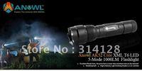 ANOWL AK52 CREE XM-L T6 LED FLASHLIGHT SINGLE MODE 1X18650/2X16340 BTY 1000LM CREE LED FLASHLIGHTS