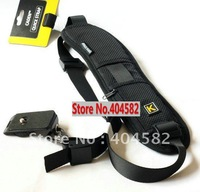 Black light soft Quick Rapid Camera Sling shoulder Neck Strap for 5D 2 550D D7000 D3 all DSLR SLR  +Freeshipping