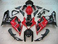 Free shipping SUZUKI 05-06 GSXR1000 GSXR 1000 Bodywork Fairing K5  209 red black