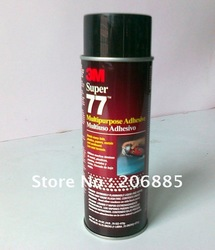 Original 3M 77 Spray super adhesive glue/ 3m gule/475G per bottle/ Made in USA(China (Mainland))