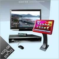 FREE SHIPPING-Professional Hard DriveTouch Screen Karaoke Player