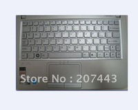 New and original sliver laptop keyboard for Sony Vaio VPCW115XG  US version