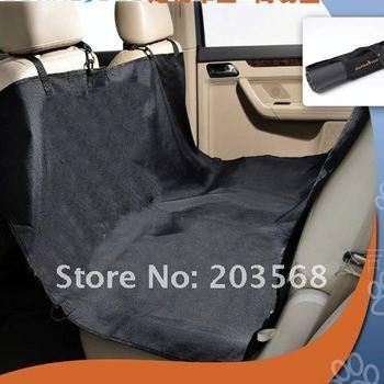 Cradle Dog Car Rear Back Seat Cover Pet Mat Blanket Hammock Cushion Protector