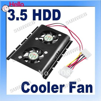 PC SATA IDE 3.5 HARD DRIVE Fan HDD cooler FREE SHiPPING 007
