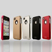 Awesome! Newest Fashion Style Free Shipping 5PCS Mixed Colors Hard Cover  SKin Back Shell for Iphone 4 4G 4th 4S