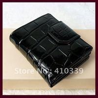 Free shipping 2013 new arrival fashion genuine leather ladies mini purse mini wallet ladies