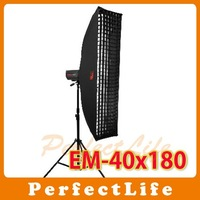 JINBEI EM-40*180 Professional Strip Softbox with Honey comb grid photographic equipment