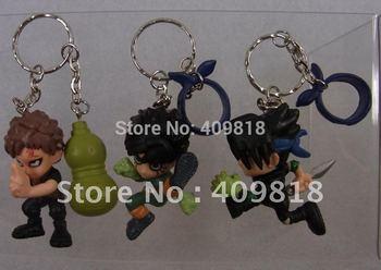 3~4cm Japanese Games PVC Naruto Action Figures Dolls Figure Doll 270pcs/lot