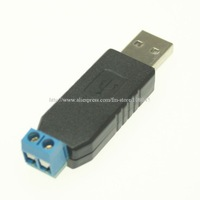 F639 USB to RS485 Converter Adapter ch340T chip Support 64-bit Win7