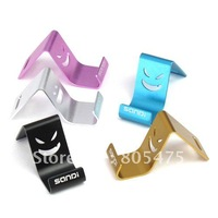 2 pcs pink silver golden black blue Universal mobile phone Holder Stand for MP4,GPS,tablet PC ,ipad,iphone