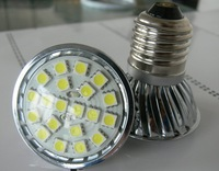 4.5w E27LED spotlight - 20 LED's - White or Warm White-AC90-260V input