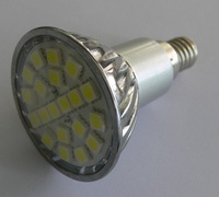 4.5w  E14LED spotlight - 20 LED's - White or Warm White-AC90-260V input