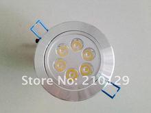 Wholse!Free shipping!6W LED Ceiling Light 6*1w spot lighting,nergy saving downlamps,110V-260V,Warranty 1 year,fast shipping!(China (Mainland))