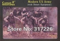 Freeshipping Wholesale Toy Figure Models Caesar Modern US Army set(42pcs)(1:72)(1inch)