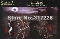 Freeshipping Wholesale Toy Figure Models Caesar Undead Warriors set(37pcs)(1:72)(1inch)