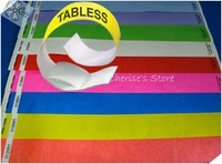 1,000 TYVEK WRISTBANDS CUSTOME 1COLOR LOGO  EVENT CLUB BAR PARTY SECURITY WEDDING ID BRACELET PROMOTION GIFTS TYW007