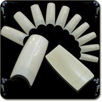 500pcs Size 0-9 Natural White False Nail Tip Fake Acrylic French Nail Art Decor Manicure Free Shipping Wholesale