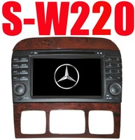 "7""DVD GPS BLUETOOTH CD/RADIO/MP3/MP4/TV/iPOD in/REVERSE PARKING CAMERA for MERCEDES S W220(1998-2005)"