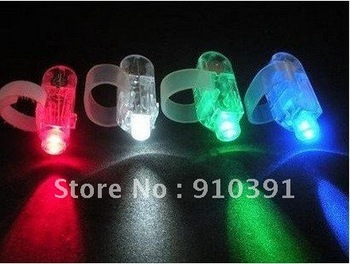 Free Shipping,Retail pack fashion plastic LED laser finger beams,laser finger light,light up toys,flashing finger light for kids
