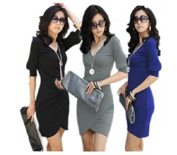 The new dress new women's 2012 spring clothing cultivate one's morality bag hip skirt bud skirt dress