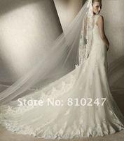 2012 fine new luxury high-end lace shoulder bag waist fishtail trailing wedding