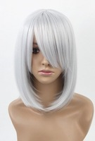 Pandora's Heart.Echo.1789.Short silver BOB cosplay wig, cos anime wig, free shipping