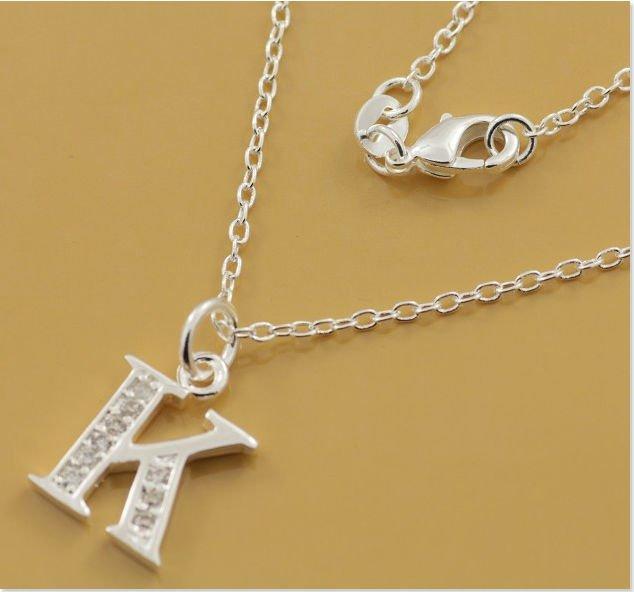 K Letter In Diamond plated Diamond letter K