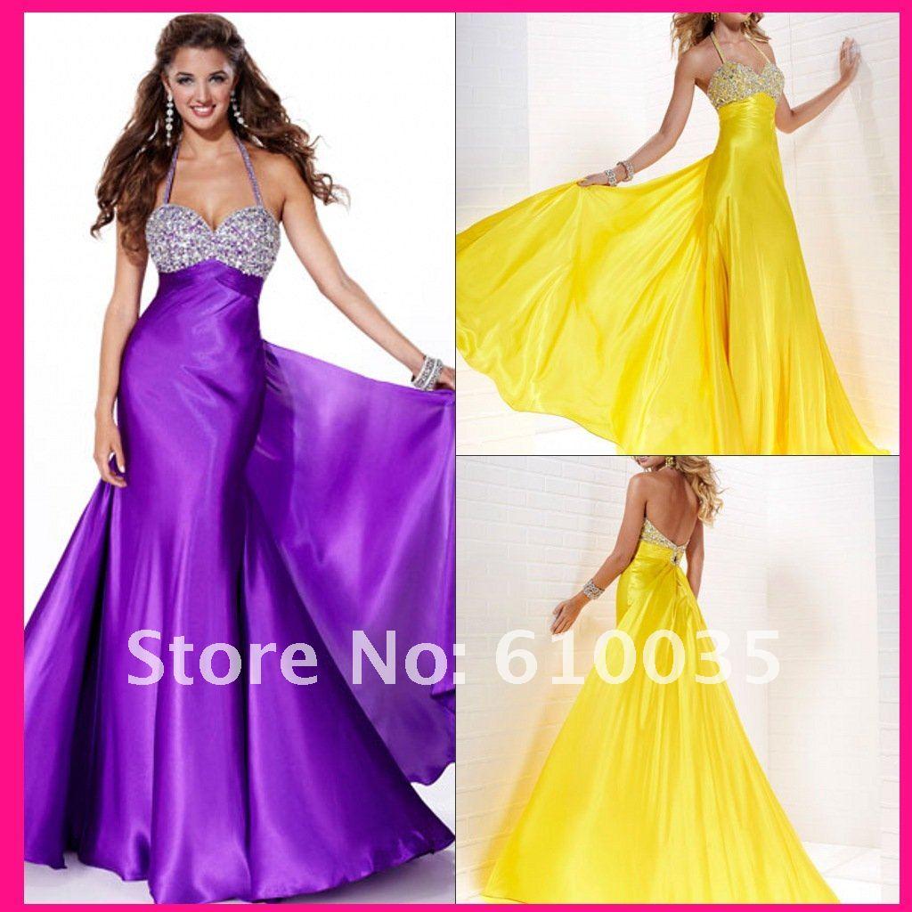Fine Yellow And Purple Bridesmaid Dresses Photos - Wedding Dress ...